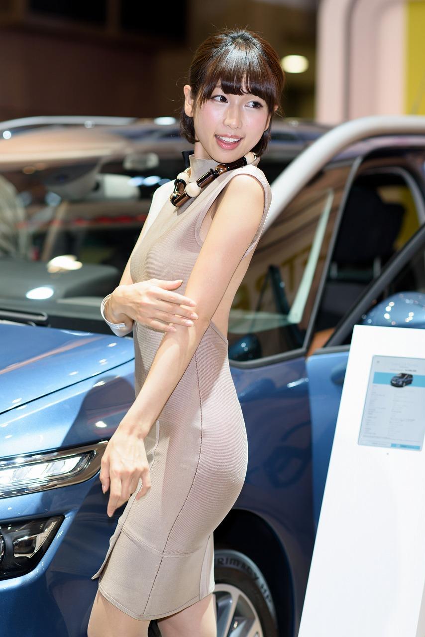 東京モーターショー2015・コンパニオンお姉さんのエロ画像33