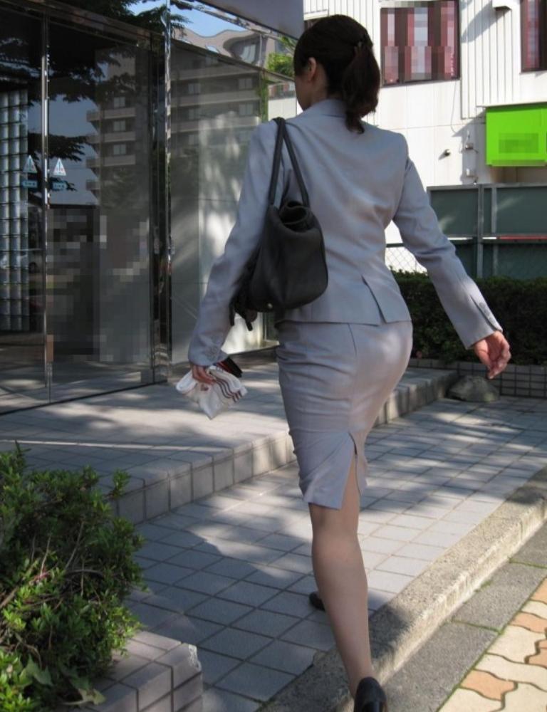 タイトスカートお尻8