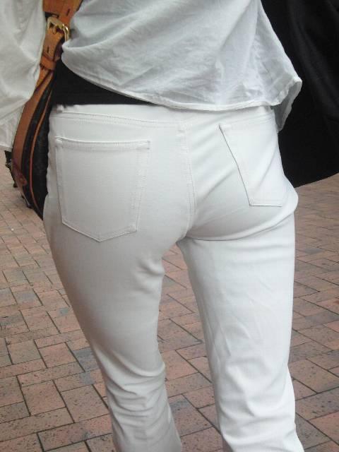 白パンツお尻027
