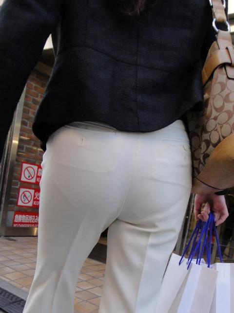白パンツお尻029