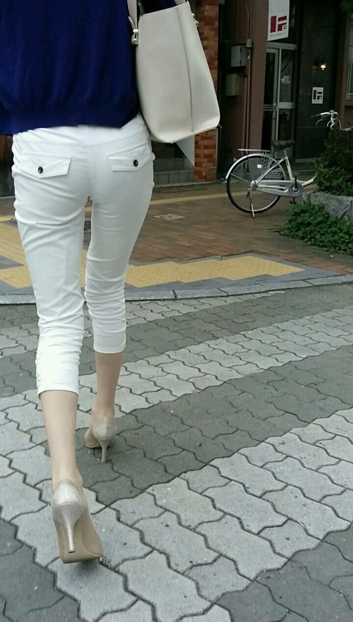 白パンツお尻041