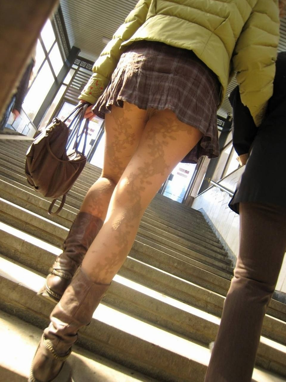 階段・エスカレーターパンチラ4
