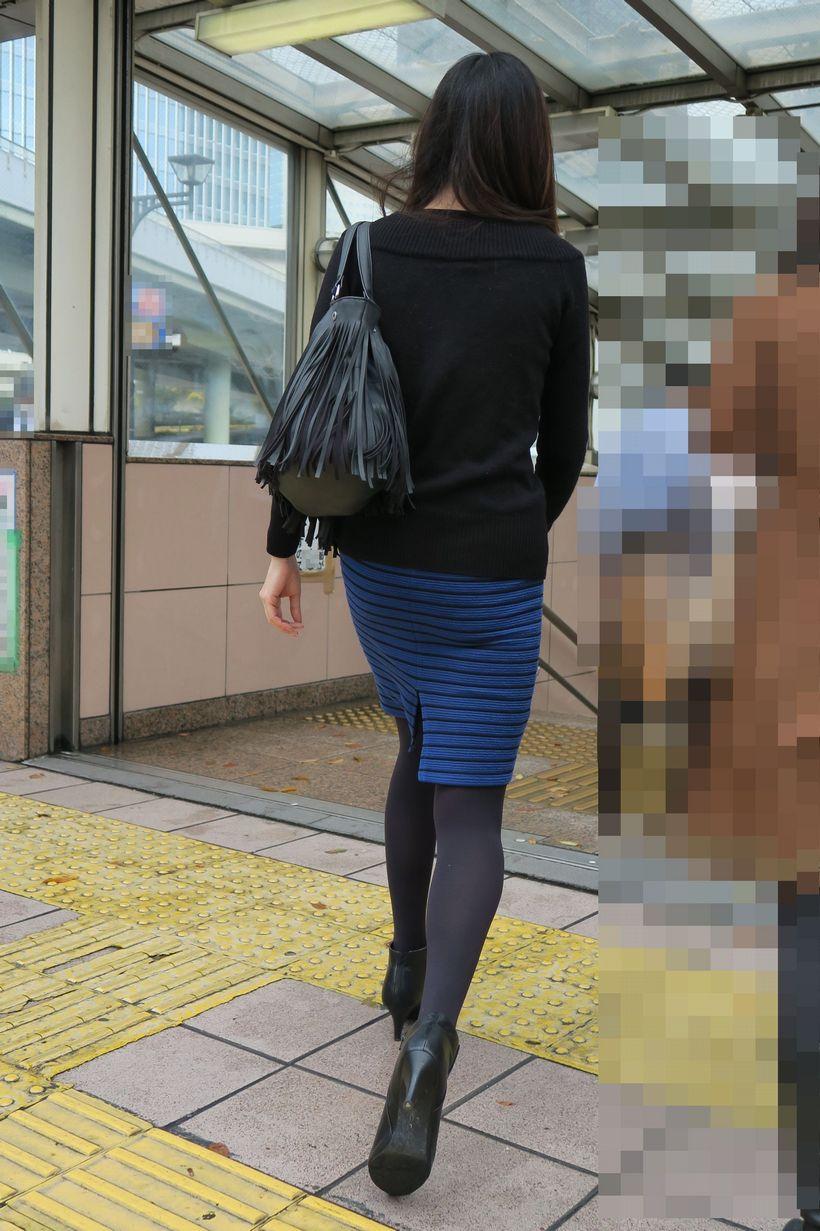 タイトスカートお尻18