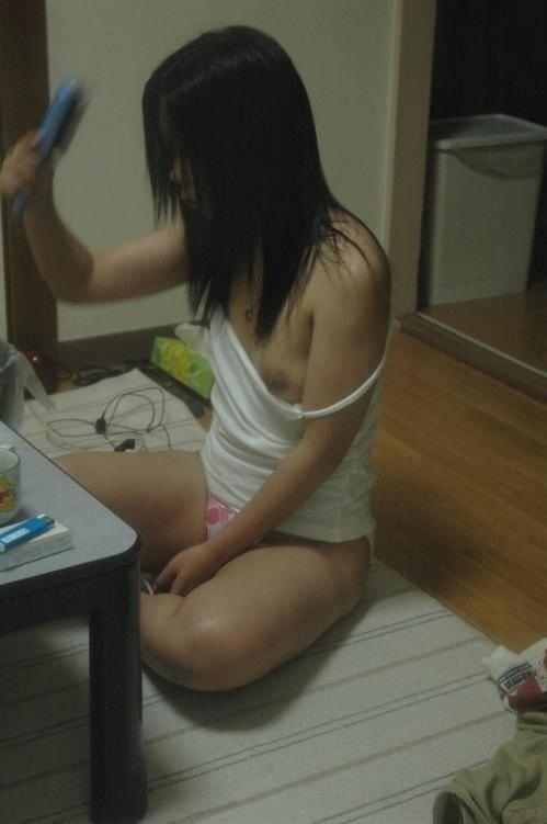お風呂上がりの濡れ髪裸体www25