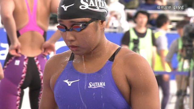 ハミ尻とオマ○コの真横にドキドキしちゃう競泳水着のフェチエロ画像-013