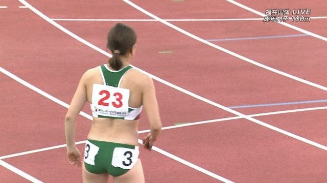 女子陸上選手の素人エロ画像-203