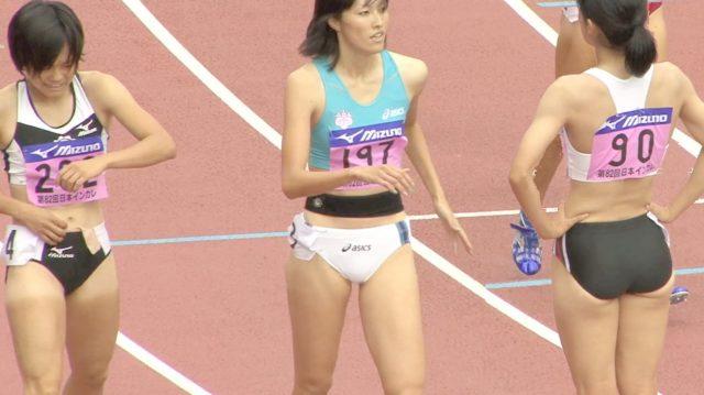 女子陸上選手の素人エロ画像-273