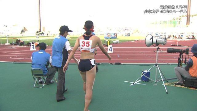 女子陸上選手の素人エロ画像-204