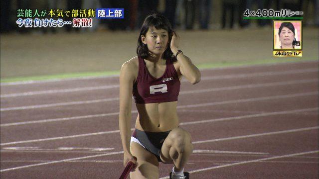女子陸上選手の素人エロ画像-020