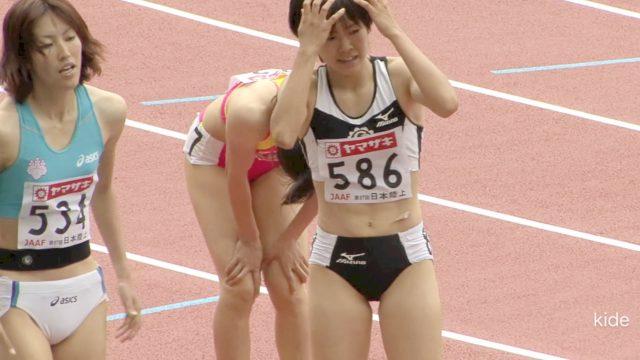 女子陸上選手の素人エロ画像-269