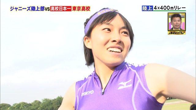 女子陸上選手の素人エロ画像-089