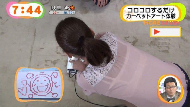 スケブラで下着が見えてる女子の素人エロ画像-059