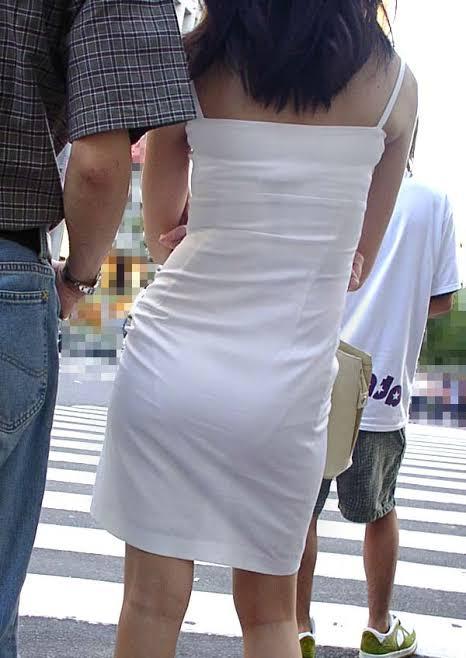 お尻がエッチな女性の素人エロ画像-205