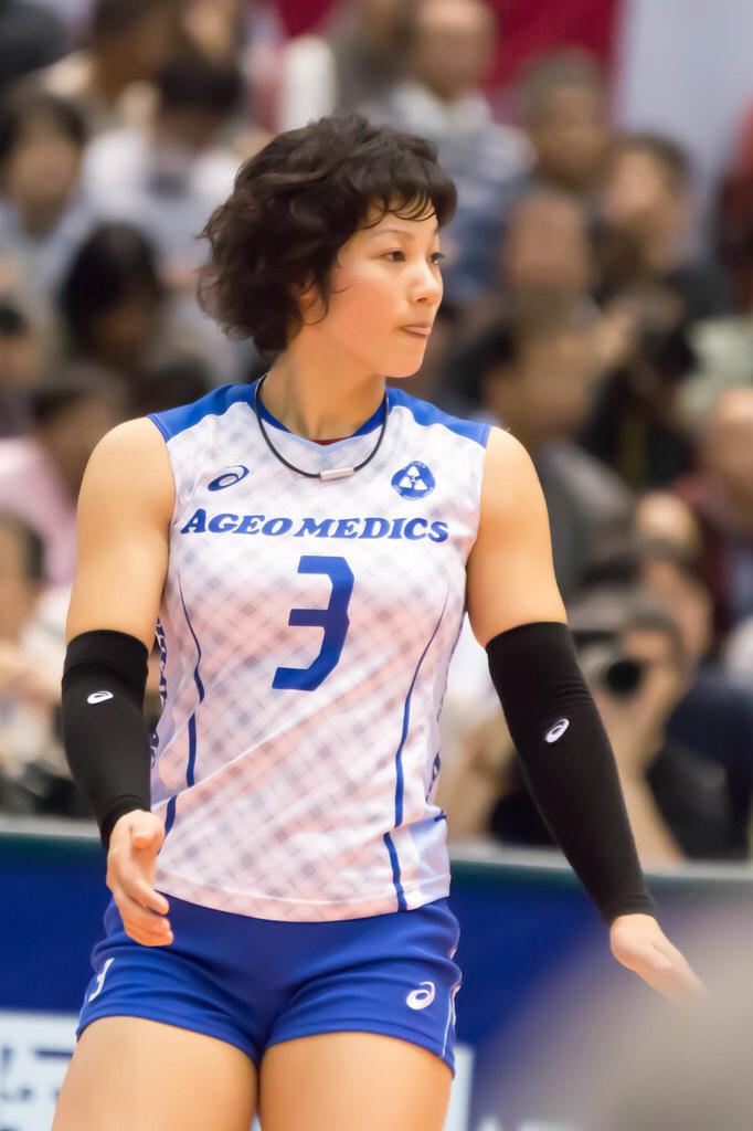 女子バレーボール選手のエロ画像-423