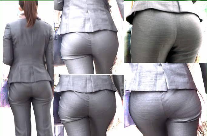 タイトスカートのお尻の素人エロ画像-200
