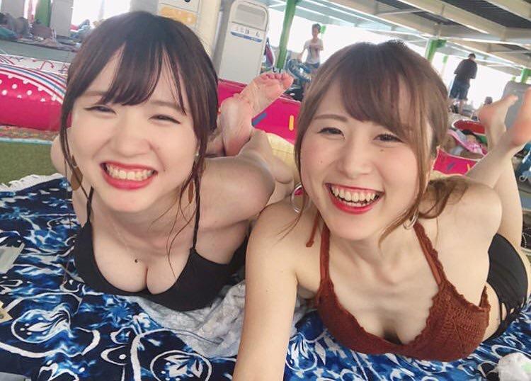 SNSに投稿された女子の水着姿の画像まとめ-371