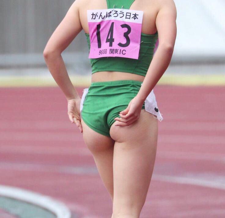 陸上女子選手の素人エロ画像-008