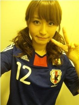 サッカーユニフォーム女子のエロ画像22