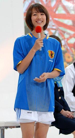 サッカーユニフォーム女子のエロ画像24