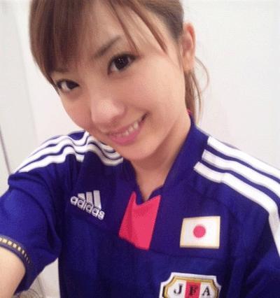 サッカーユニフォーム女子のエロ画像23
