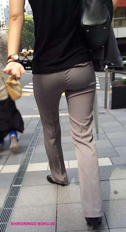 街で見かけたやらしいお尻の盗撮素人エロ画像04