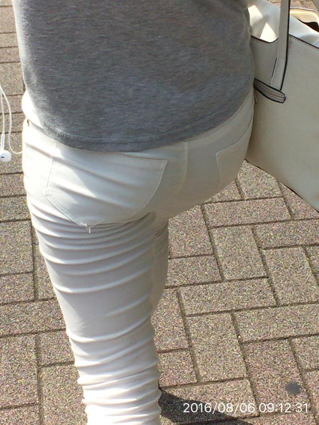 白パンツお尻16