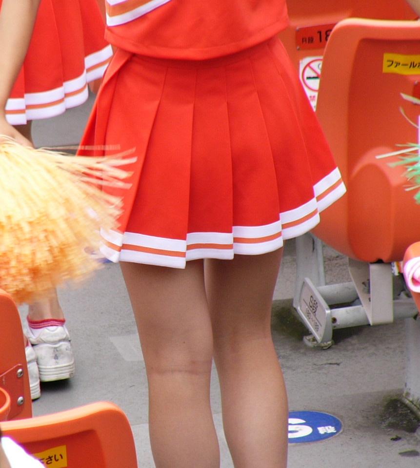 JKチアガールの素人エロ画像5
