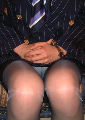 キャビンアテンダントのお姉さんを盗撮した素人エロ画像07