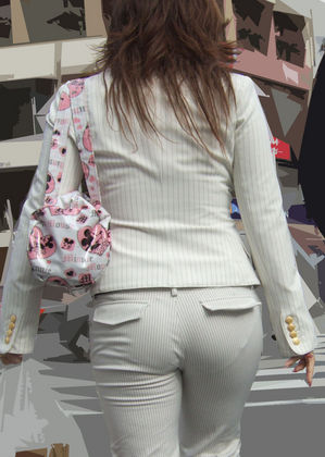 歩いている女性の尻肉を盗撮したお尻エロ画像6